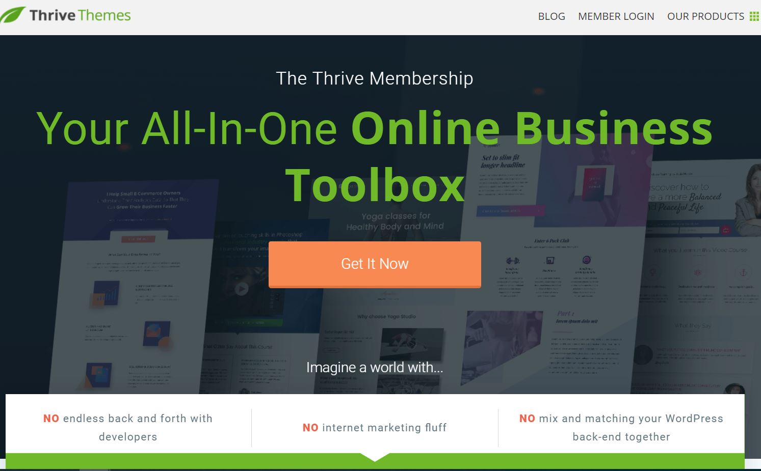 Open Box WordPress Themes Thrive Themes