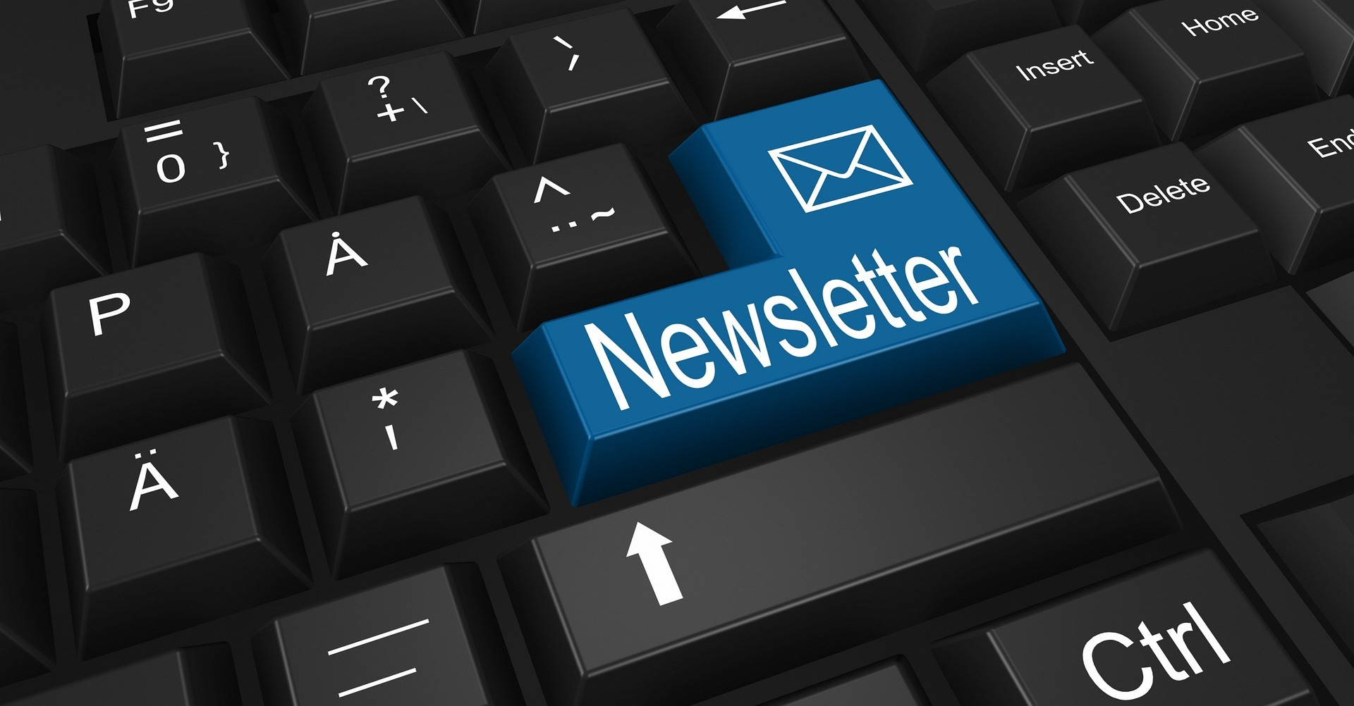 Attract visitors to your blog posts with email newsletters
