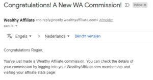 commission wealthy affiiliate