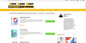 duplicate version of website