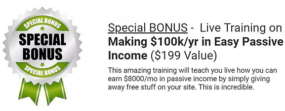 passive income training bonus picture