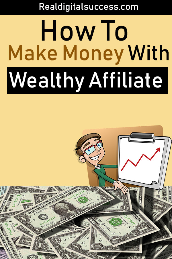 How to make money with wealthy affiliate pinterest pin