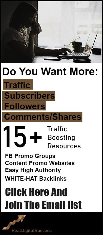 Increas Traffic Email list banner