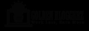 golden bloggerz logo fade