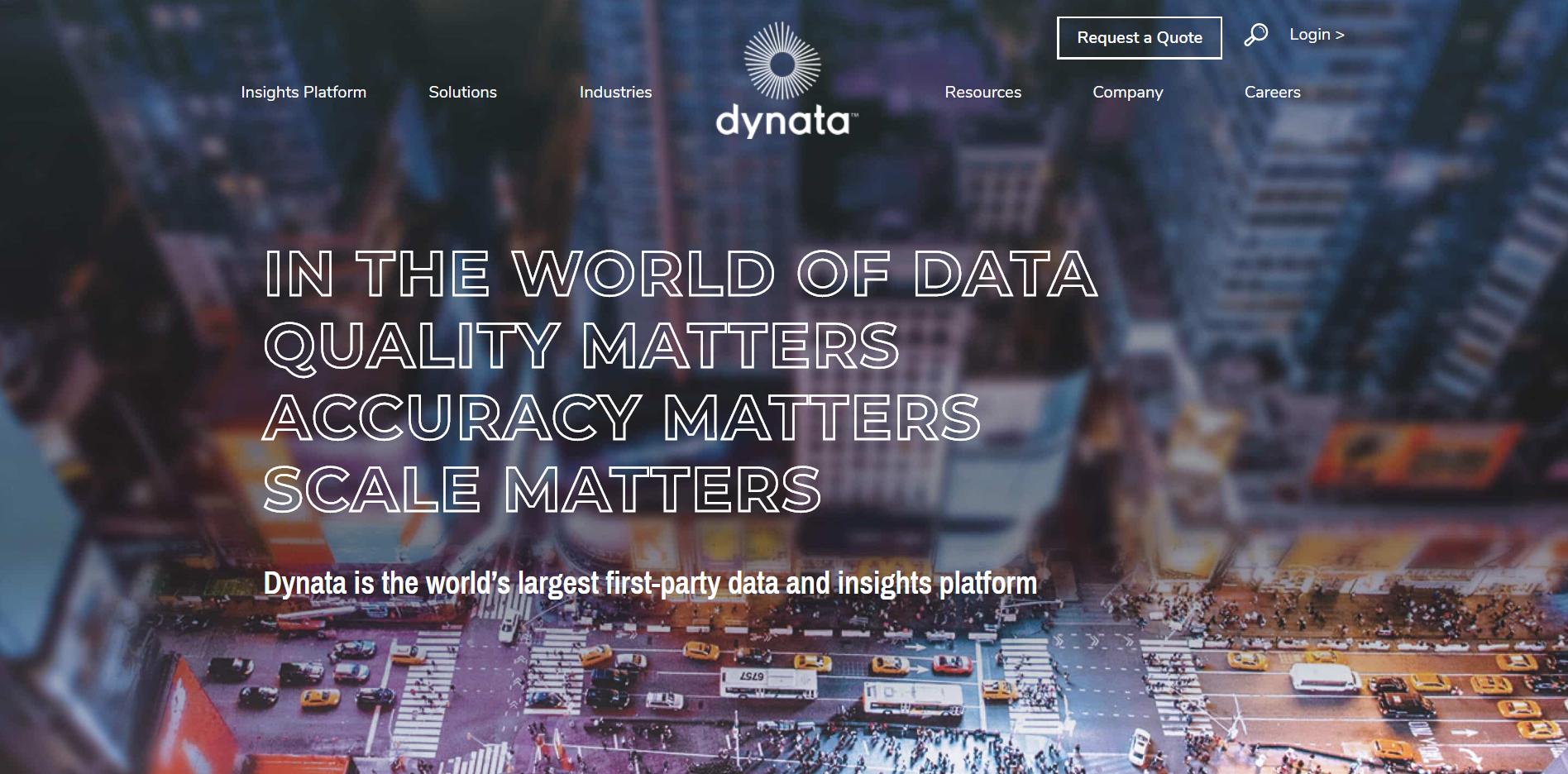 Dynata Homepage