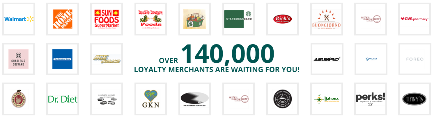 Loyalty merchants