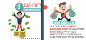 Smart Dollars Club Step 3 Cash Out