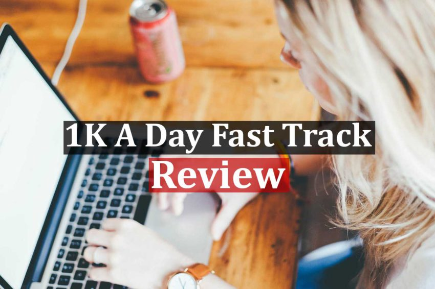 Buy Used 1k A Day Fast Track Training Program Cheap