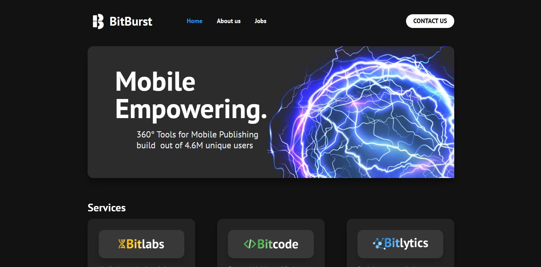BitBurst website