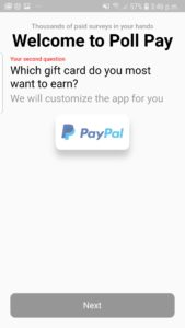 Poll Pay gifts