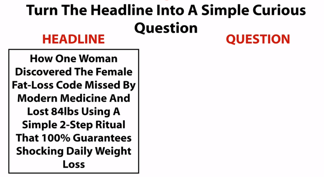 Turn headline into a question