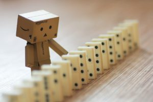 Affiliate marketing is like dominoes