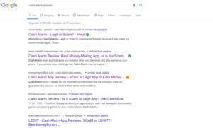 Cash Alarm App reviews