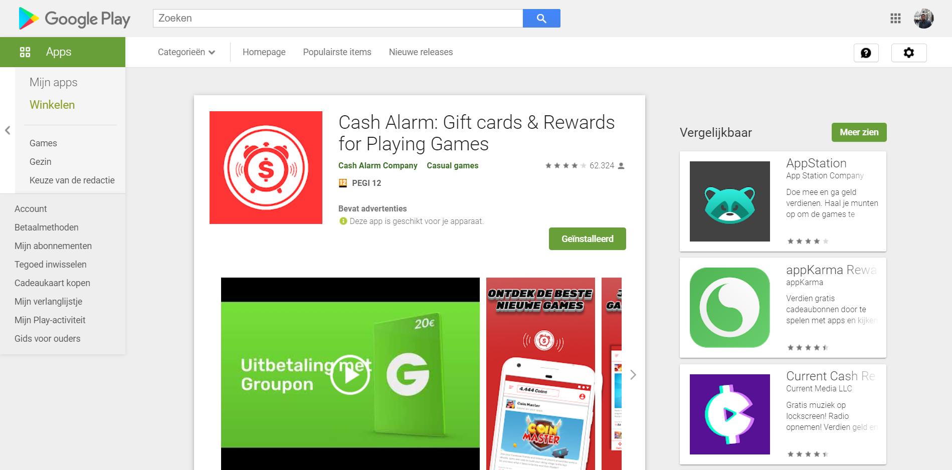 Download Cash Alarm on Google Play