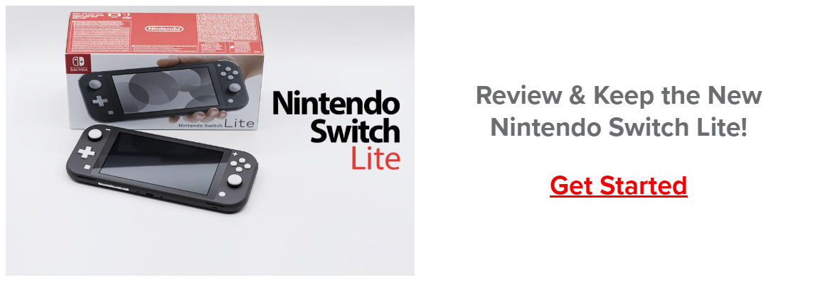 Review nintentdo switch light