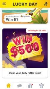 Lucky Day App games