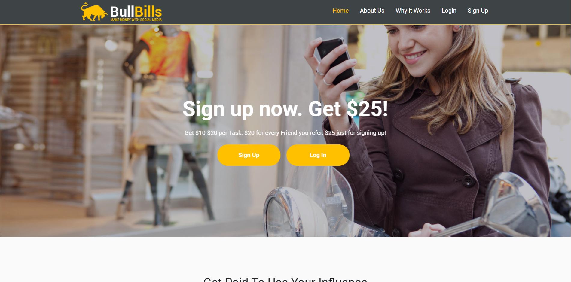 BullBills Main Page
