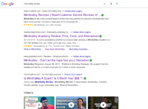 Mindvalley review google results