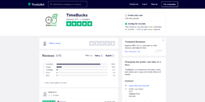Trustpilot Timebucks