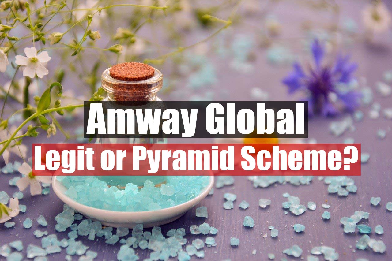 Is Amway a pyramid scheme featured image