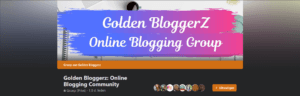Golden Bloggerz online blogging group