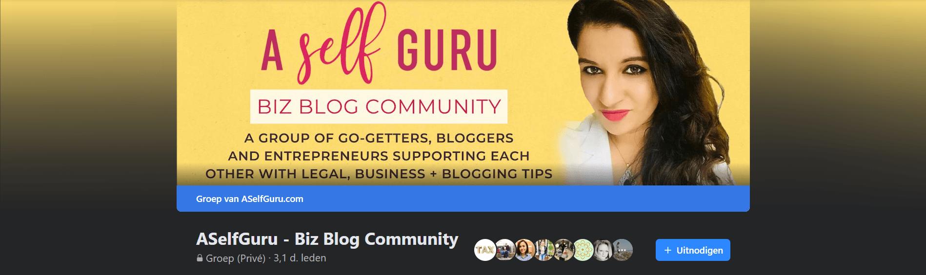 a self guru biz blog community