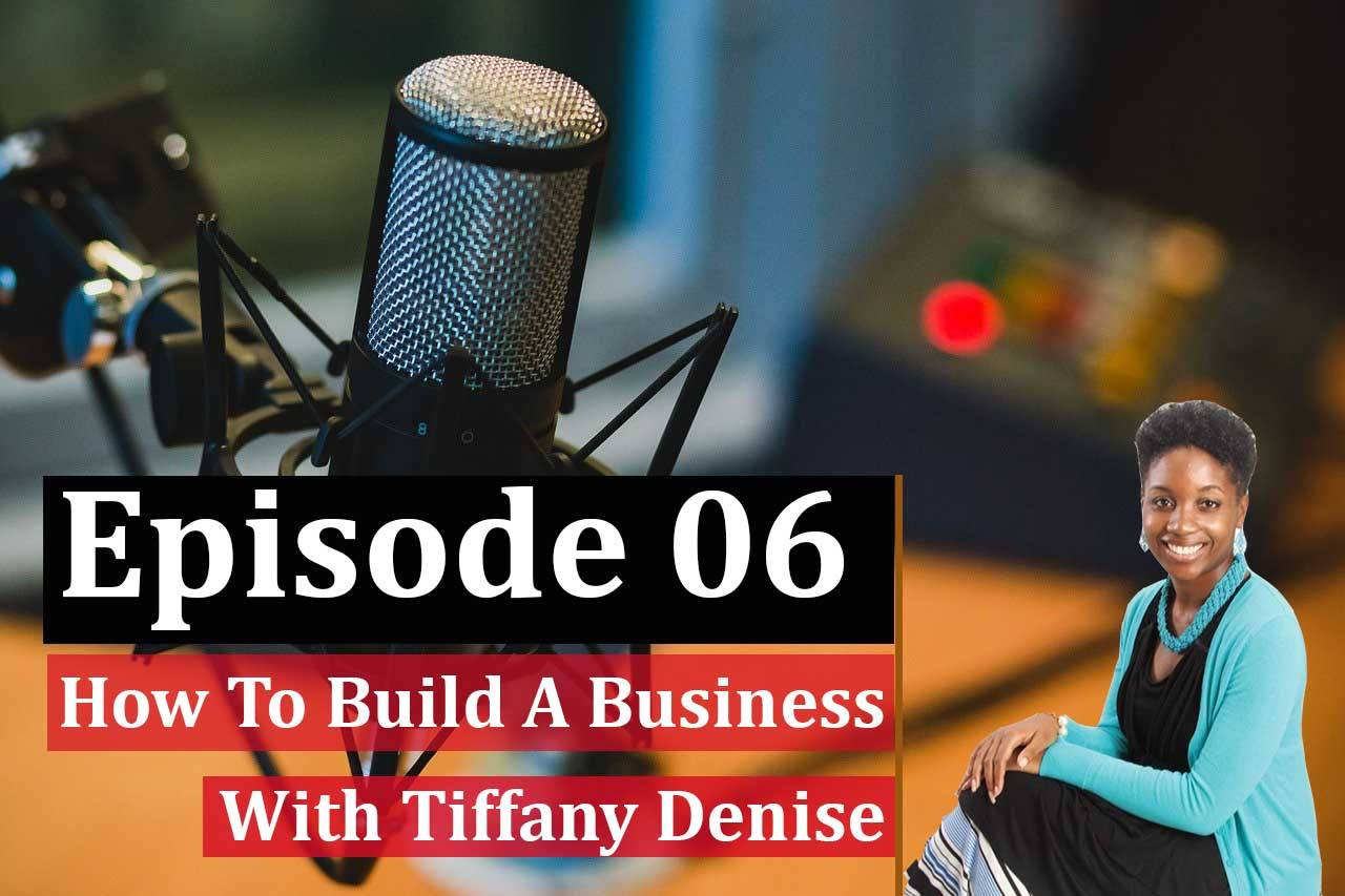Building a business with Tiffany