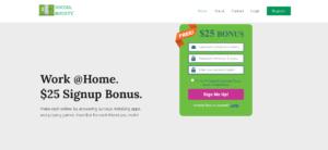 Social Bounty Main Page