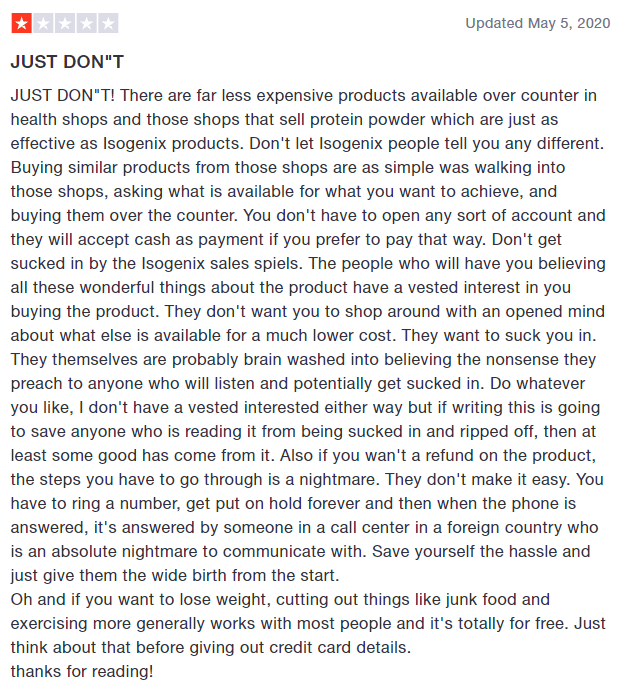 Cheaper products than Isagenix are out there